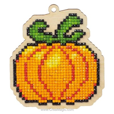 Broderie diamant Wizardi pumpkin