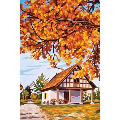 Collection d'art canevas l'automne en campagne
