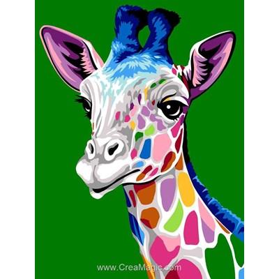 Les taches de la girafe canevas - Margot