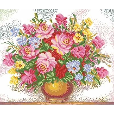 Kit broderie diamant bright bouquet - Diamond Painting