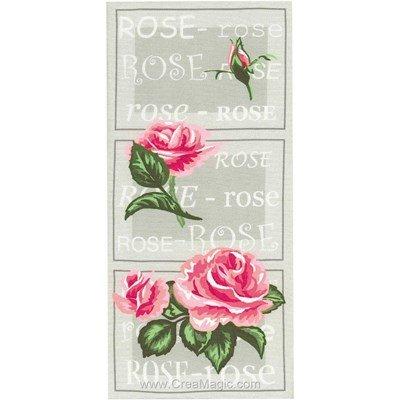 Le point de croix Marie Coeur envie de rose