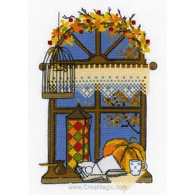 Kit RIOLIS à broder autumn window