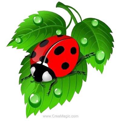 Broderie diamant Diamond Painting ladybug