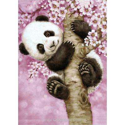 Broderie diamant sweet panda de Wizardi