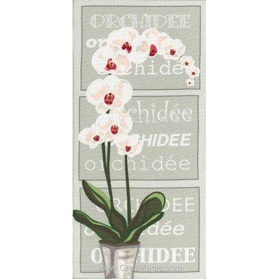 Envie d'orchidée point de croix - Marie Coeur