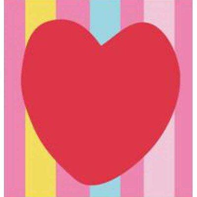 Kit canevas DMC pour débutant le coeur rouge