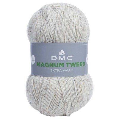 Laine magnum tweed de dmc - fils pour tricot