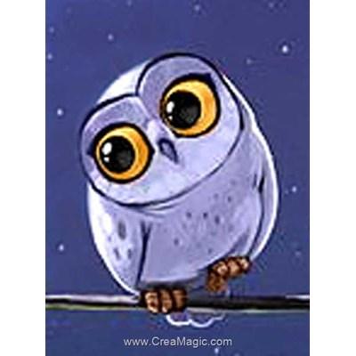 Broderie diamant owlet - Wizardi