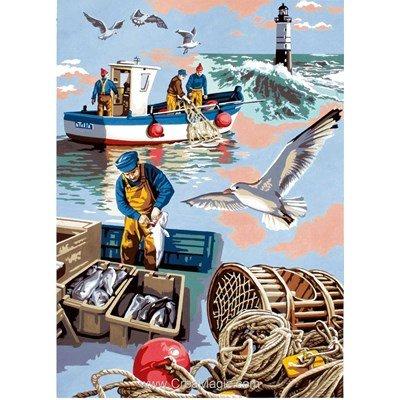 Canevas carnet du marin pêcheur - SEG