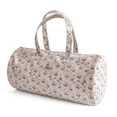 Sac pour ouvrages sac à tricot bowling little roses de DMC