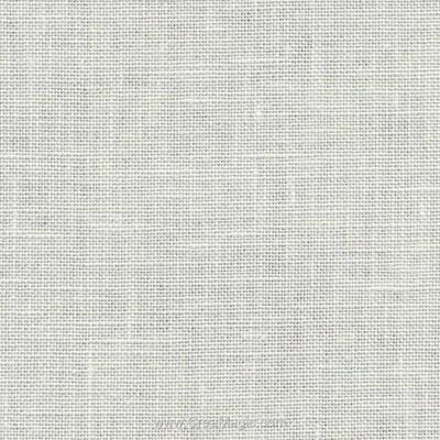 Toile lin bristol 18 fils blanc cassé (101) de Zweigart