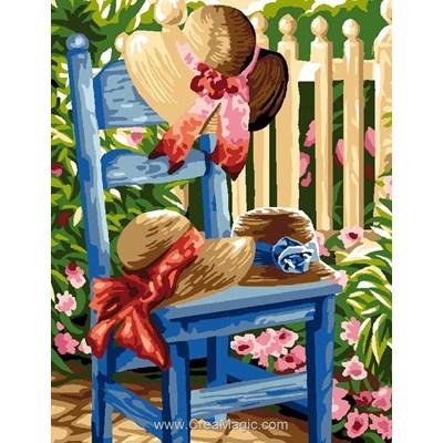 Les chapeaux canevas de Luc Création