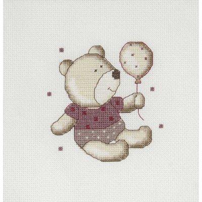 Ballon teddydou mini point de croix - DMC