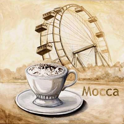 Kit broderie diamant café mocca de Diamond Painting