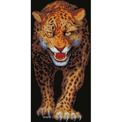 Kit broderie diamant jaguar - Diamond Painting