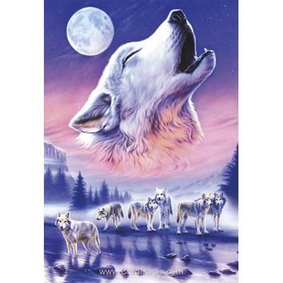 Broderie diamant la meute de loups - Diamond Painting