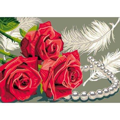 Saint valentin canevas - Luc Création