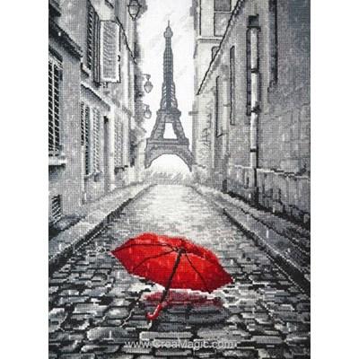 Point de croix Oven jour de pluie à paris