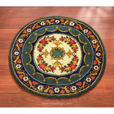 Tapis point noué royal gand format - Vervaco