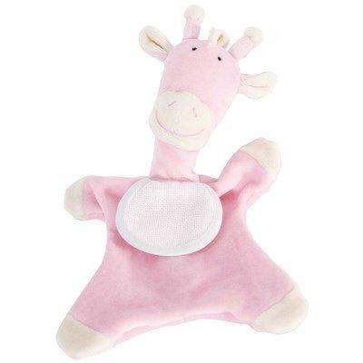 Doudou pour bébé DMC girafe rose à broder
