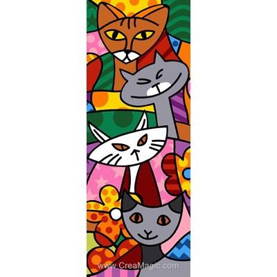 Cat color canevas - Margot