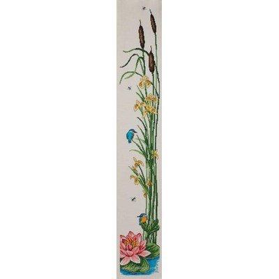 Modèle au point de croix kingfisher & iris - Permin