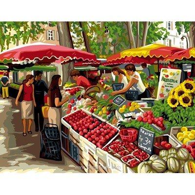 Le marché canevas de Royal Paris