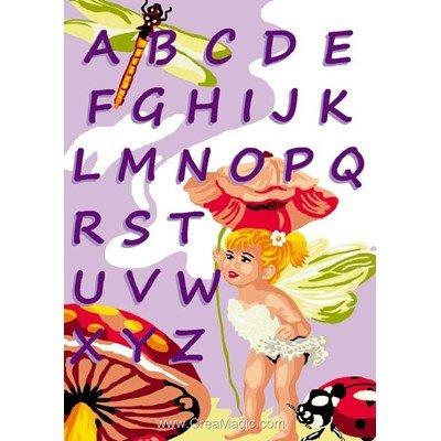 Abc des fées canevas - Luc Création