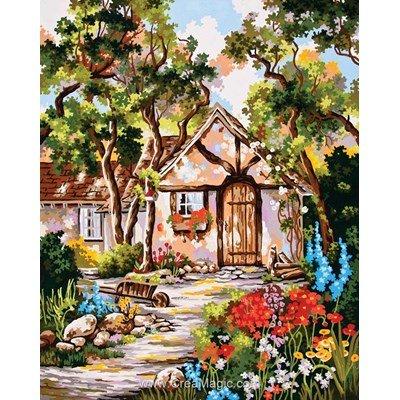 Canevas cottage rustique - Collection d'art