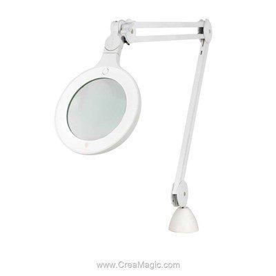 Lampe loupe omega 5 - E25110 chez Daylight