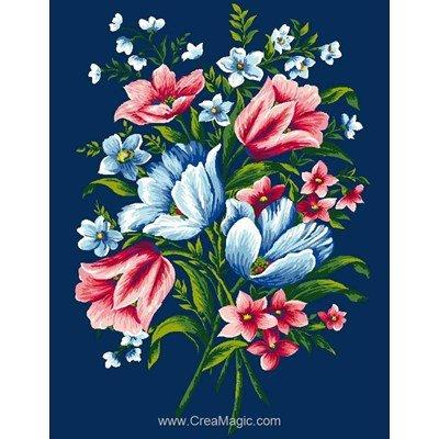 Canevas Luc Création petit bouquet