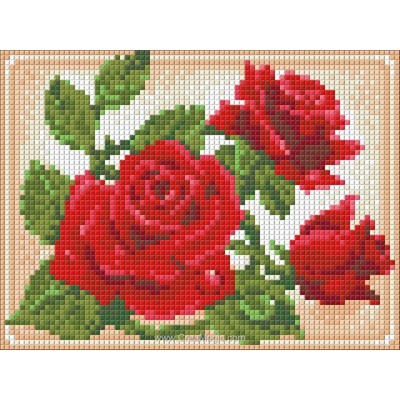 Kit broderie diamant young rose - Diamond Painting