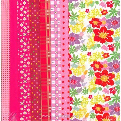 Set de tissu DRESS YOUR DOLL pink