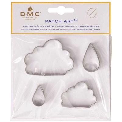 Emporte pièces nuage et pluie pour le patch art - DMC