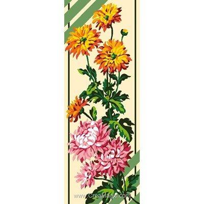 Composition fleurie canevas chez Luc Création