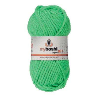 Fils myboshi DMC n°184 -vert fluo