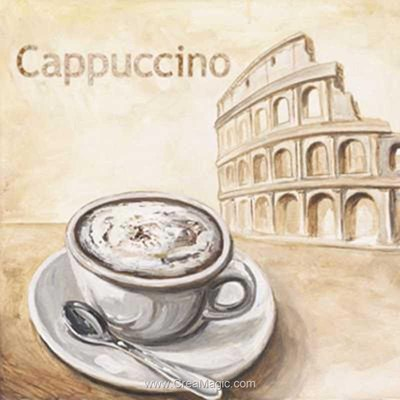 Kit broderie diamant cappuccino - Diamond Painting
