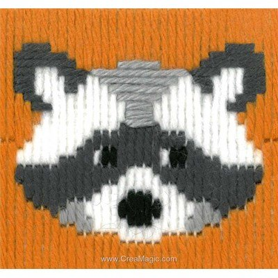 Panda walter kit canevas point lancé - La Maison Victor