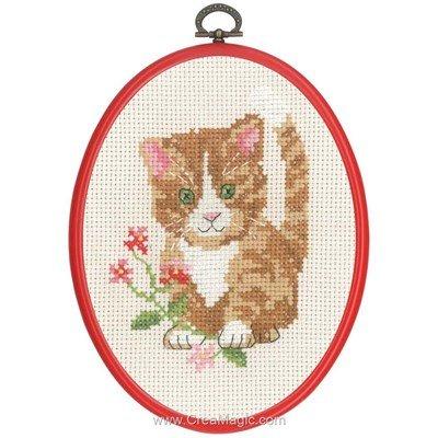 Petit chat la broderie - Permin