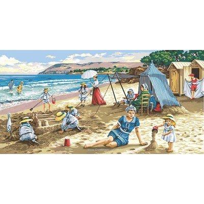 Une journée à la plage canevas - SEG