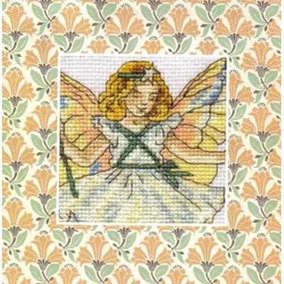 Mini point de croix en kit la fée sapin - DMC