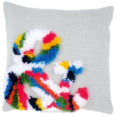 Kit coussin point noué and mulitcolor - Vervaco