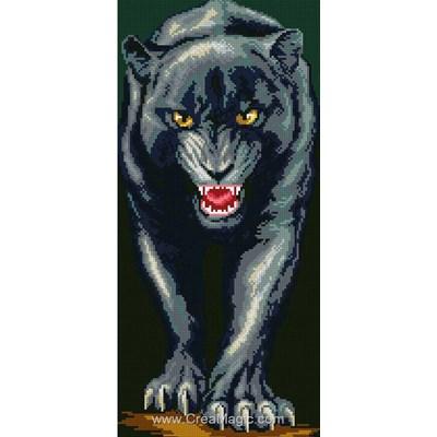 Broderie diamant Diamond Painting panther