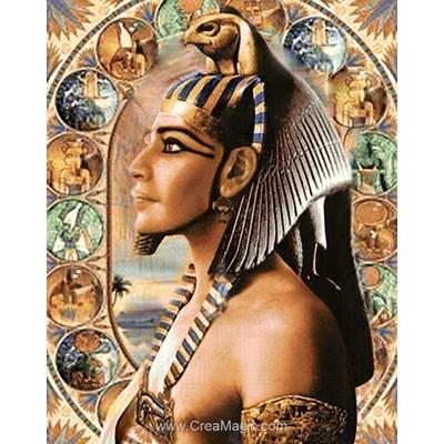 Kit broderie diamant vice-roi de dieu - pharaon - egypte de Wizardi