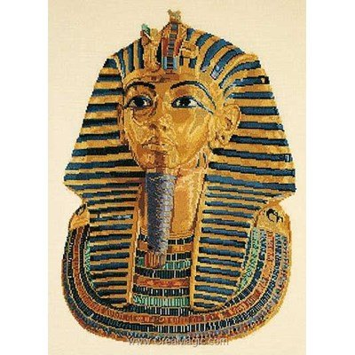 Kit Thea Gouverneur à broder tutankhamen sur lin