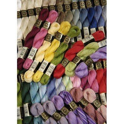 Fil coton perlé dmc - spécial hardanger article 115ea grosseur 8