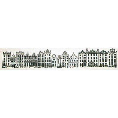 Kit tableau point de croix Thea Gouverneur city street amsterdam sur aida