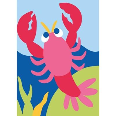 Canevas kit enfant complet le homard clown - DMC