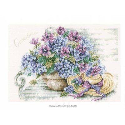Kit hortensias au chapeau de Lanarte