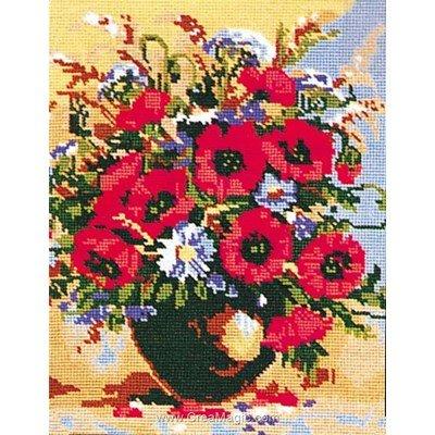 Collection d'art canevas bouquet de l'été